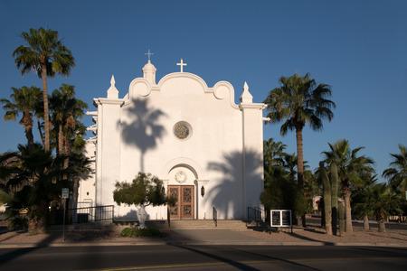 immaculate: Imagen de la Iglesia Inmaculada Concepci�n en Ajo en el estado de Arizona.