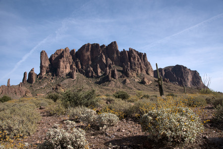 superstition: Lost Dutchman State Park is a state park located near the 320acre Superstition Mountains in central Arizona.