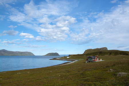 meagre: Mageroya is a large island in Finnmark county, in the extreme northern part of Norway. The island lies along the Barents Sea in Nordkapp Municipality.