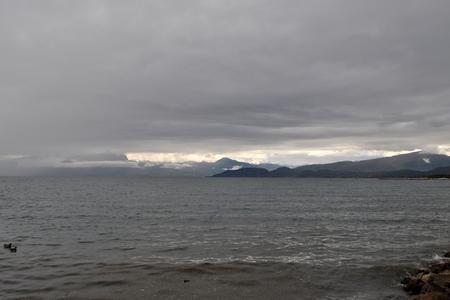 lago: Lake Garda, in Italian: Lago di Garda or Lago Benaco, is the largest lake in Italy.