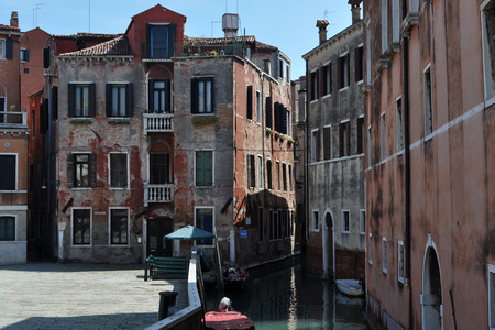 marshy: Venice is a city in northeastern Italy. It is located in the marshy Venetian Lagoon.