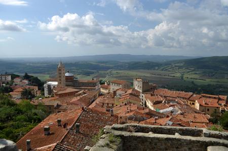 massa: Massa Marittima is a small town in the Tuscany, Italy. Stock Photo