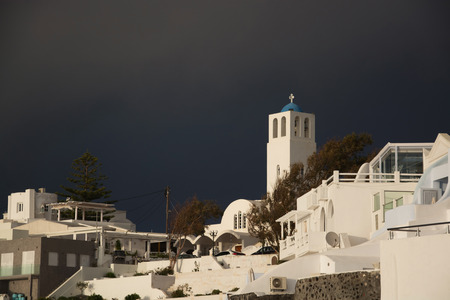 thera: Fira is a village in the Cyclades. It is located on the main island Thira, or Thera, at Santorini, Greece