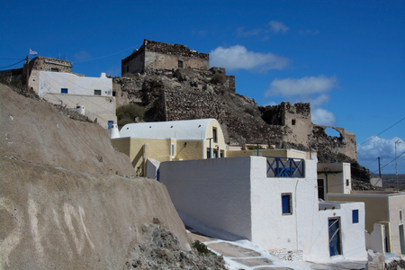 thera: Akrotiri is a village in the Cyclades. It is located on the main island Thira, or Thera, at Santorini, Greece