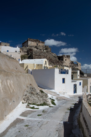 thira: Akrotiri is a village in the Cyclades. It is located on the main island Thira, or Thera, at Santorini, Greece