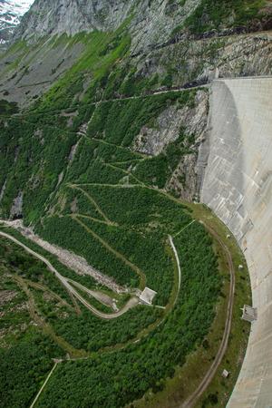 The K?lnbrein Dam is an arch dam in the Hohe Tauern range within Carinthia, Austria.