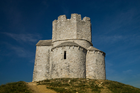 saint nicolas: The Church St. Nicolas in Nin on the Island Vir at Croatia.
