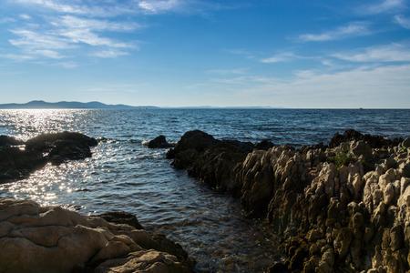 dalmatia: The harbor and resort Zadar is located in the south of Croatia in North Dalmatia.