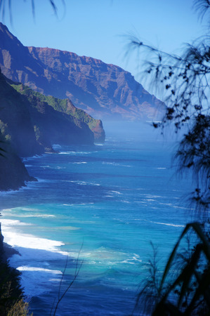 Hawaii is the only U.S. state located in Oceania and the only one composed entirely of islands. Stock Photo