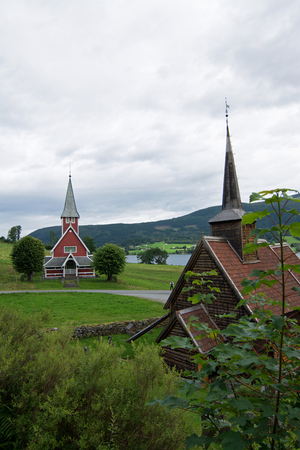Roedven Stave Church is one of 28 stave churches still existing in Norway..
