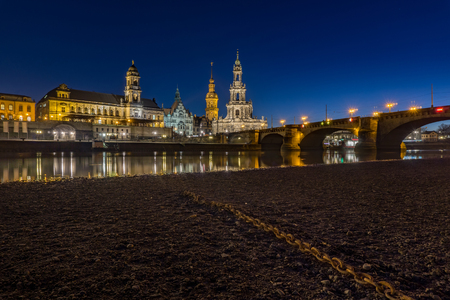 Dresden is the capital city of the Free State of Saxony in Germany. It is situated in a valley on the River Elbe, near the border with the Czech Republic