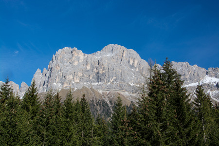 The Rosengarten group, Italian Catinaccio, is a massif in the Dolomites of northern Italy.