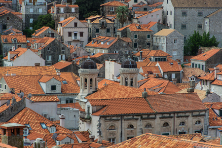 Dubrovnik is a Croatian city on the Adriatic Sea. It is one of the most prominent tourist destinations in the Mediterranean Sea, a seaport and the center of Dubrovnik-Neretva County. 스톡 콘텐츠