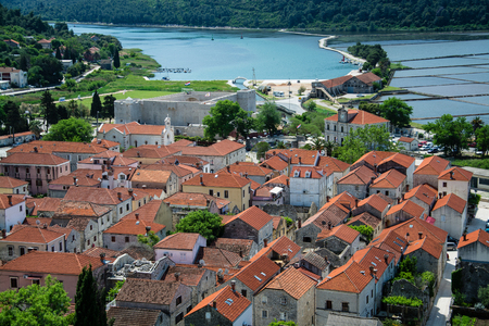 Ston is a city in the Dubrovnik-Neretva County of Croatia, located at the south of isthmus of the Peljesac peninsula.