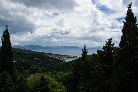 Rabac is a town in the county Istria, Croatia. 스톡 콘텐츠