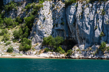 The Lim bay and valley is a peculiar geographic feature on the western coast of Istria, Croatia. Imagens