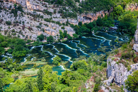Krka National Park is one of the national parks  in Dalmatia, Croatia.