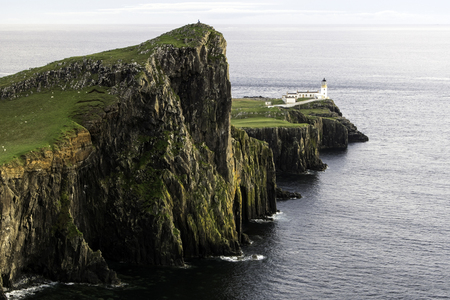 Neist Point is a viewpoint on the most westerly point of Isle of Skye.