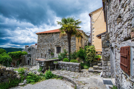 Hum is a town in the central part of Istria, northwest Croatia, and known as  the smallest town in the world.
