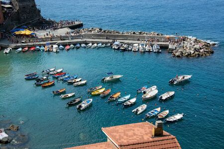 The small fishing village Vernazza is probably the most characteristic of the Cinque Terre and is classified as one of the most beautiful villages in Italy.