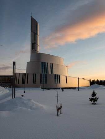 The Northern Lights Cathedral, also known as Alta Church, is a parish church of the Church of Norway in Alta Municipality and was built from 2011 til 2013.