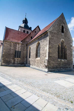 The city church Saint Sebastian and Paul in Koenigslutter at the Elm was founded in the 12th century.