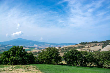 Tuscany is a region in central Italy and is known for its landscapes, history, artistic legacy, and its influence on high culture. Zdjęcie Seryjne