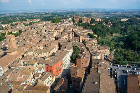 The historic center of Siena and it is one of the nation's most visited tourist attractions.