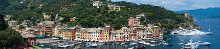 Portofino in Liguria is an Italian fishing village and holiday resort famous for its picturesque harbor and historical association with celebrity and artistic visitors. Publikacyjne