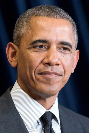 Barack Obama - * 04.08.1961 - 44th President of the United States of America from 2009 to 2017 - Caution: For the editorial use only. Not for advertising or other commercial use! Redakční