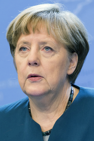 Angela Merkel - * 17.05.1954: German Politician of the Christian Democratic Union and Chancellor of the Federal Republic of Germany.