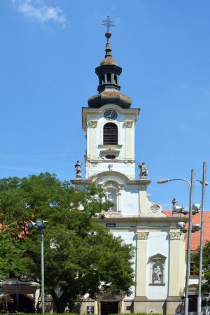 St. Martin's Cathedral in the Old Town of Slovak capital Bratislava - Slovakia. 版權商用圖片