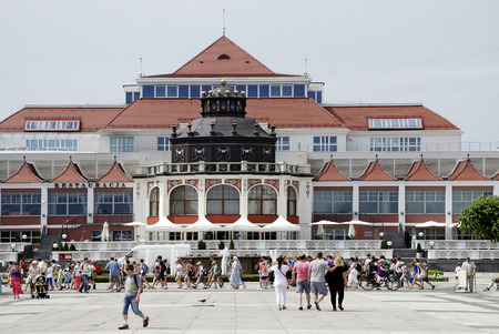 Spa house in the Polish Baltic resort of Sopot - Poland.