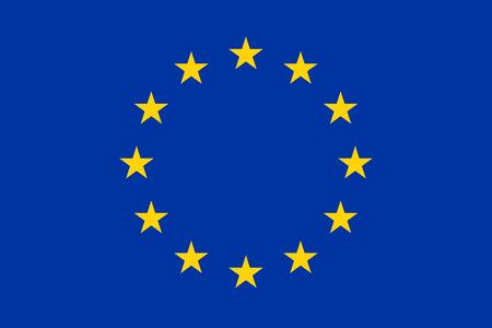 Logo of the European Union.
