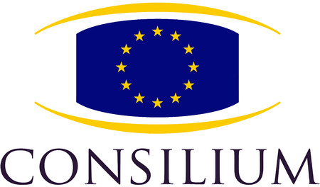 Logo of the Council of the European Union based in Brussels. Editorial