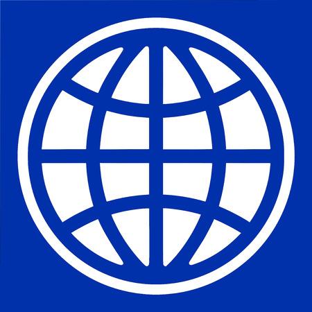 Logo of the World Bank based in Washington. Editorial