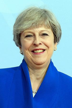 Theresa May - * 01.10.1956 - Prime Minister of the United Kingdom of Great Britain and Northern Ireland. Editorial