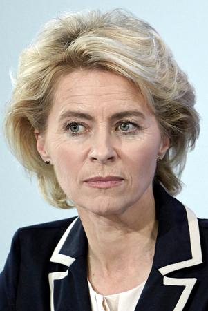 Ursula von der Leyen - 08.10.1958: German politician of the CDU and Federal Minister of Defense since December 2013.