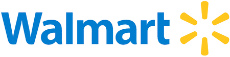 Logo of the American multinational retail cooperation Walmart with seat in Bentonville - United States of America.
