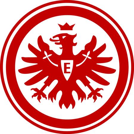 Logo of German football team Eintracht Frankfurt - Germany. Imagens - 117054662