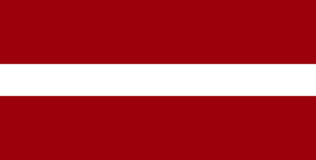 National flag of the Republic of Latvia. Stock fotó