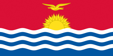 Flag of the Republic of Kiribati.