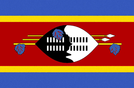 Flag of the Kingdom of Swaziland.