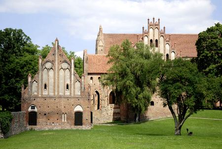 Cistercian monastery Chorin in Brandenburg - Germany. Imagens