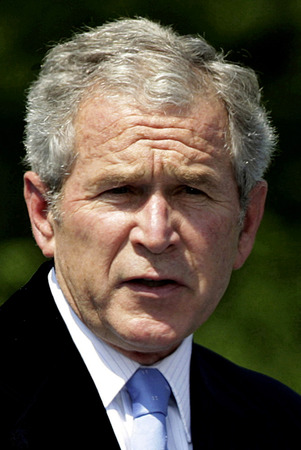 George W. Bush - * July 6, 1946 - 43rd President of the United States of America.