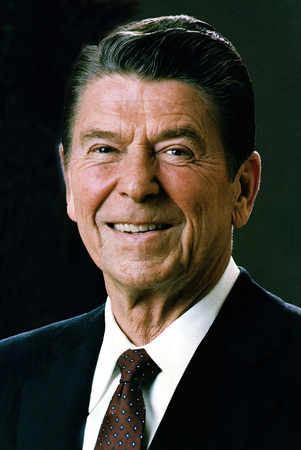 Ronald Reagan - * 06.02.1911 - 05.06.2004 - 40th President of the United States of America. Redactioneel