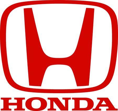 Company logo of Japanese automotive corporation Honda - Japan.