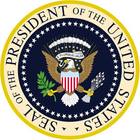 Seal of the President of the United States of America - USA.
