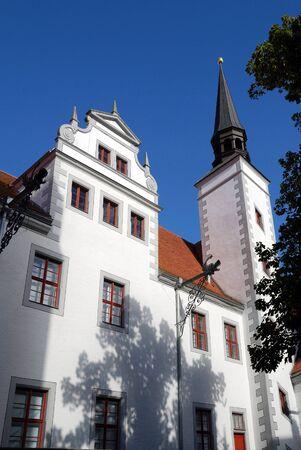 Castle Doberlug in the Brandenburg Doberlug-Kirchheim - Germany.