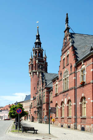 City hall of the city of Dahme/Mark in Brandenburg - Germany.